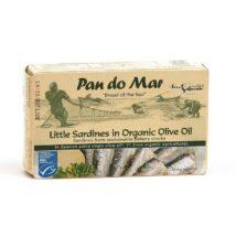 PAN DO MAR Σαρδέλες μικρές σε ελαιόλαδο - 120g