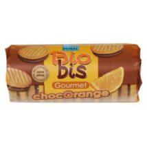 PURAL Μπισκότα γεμιστά μαύρη σοκολάτα-πορτοκάλι - 85g