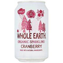 WHOLE EARTH Αναψυκτικό cranberry Χ/Ζ - 330ml