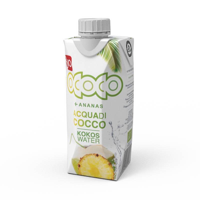 Νερό καρύδας με ανανά - 330ml - OCOCO