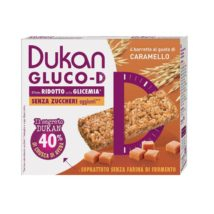DUKAN μπάρες βρώμης GLUCO-D με γεύση καραμέλα - 120g