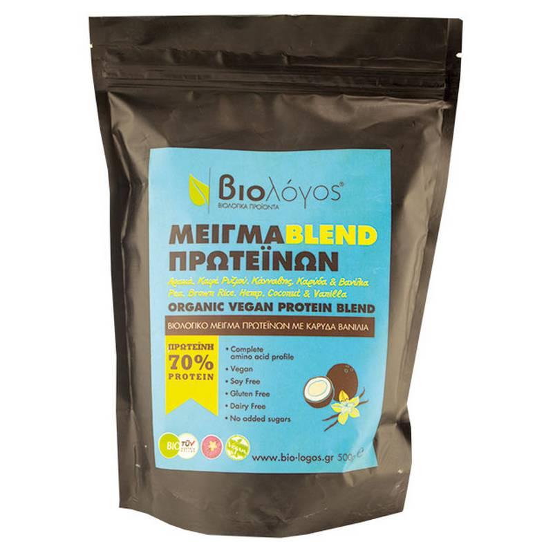ΒΙΟΛΟΓΟΣ Μείγμα blend πρωτεϊνών - 500g