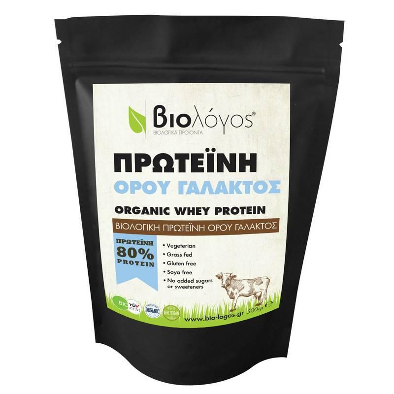 ΒΙΟΛΟΓΟΣ Πρωτεΐνη ορού γάλακτος (whey protein) - 500g