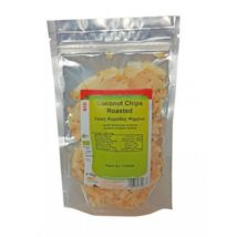 Τσιπς καρύδας (coconut chips) roasted - 100g - HEALTHTRADE