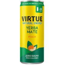 Ενεργειακό αναψυκτικό yerba mate με γεύση ροδάκινο - 250ml - VIRTUE